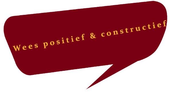 Constructief & positief handelen in de islam