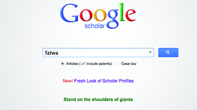 Online fatwa's opvragen